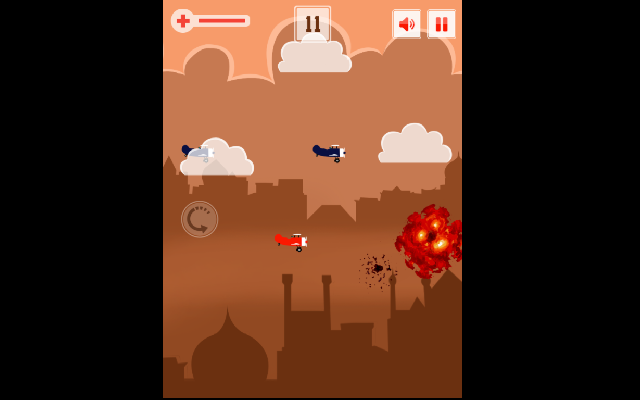 Air Plane Battle Game