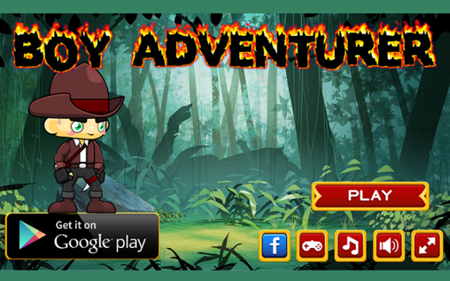 Boy Adventurer Game